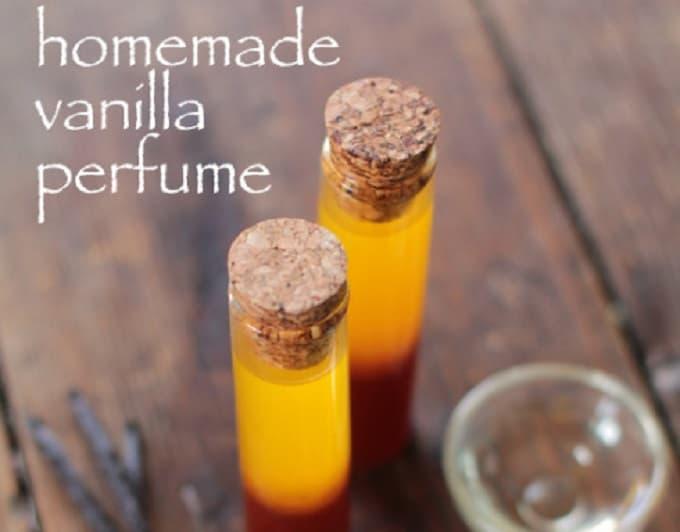 homemade vanilla perfume