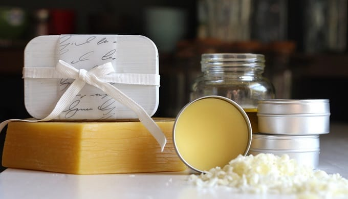 sandalwood and vanilla solid perfume