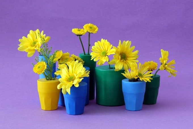 balloon flower vases