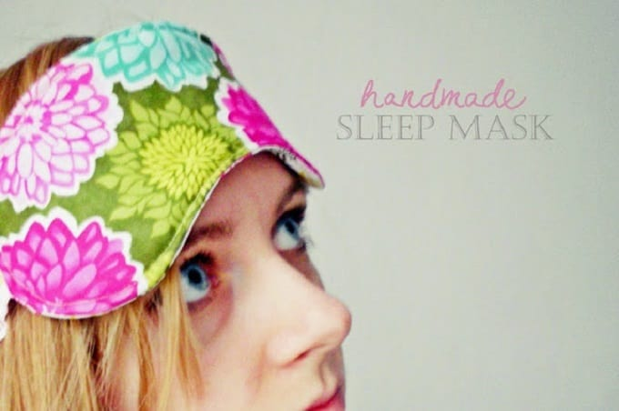 easy DIY sleep mask
