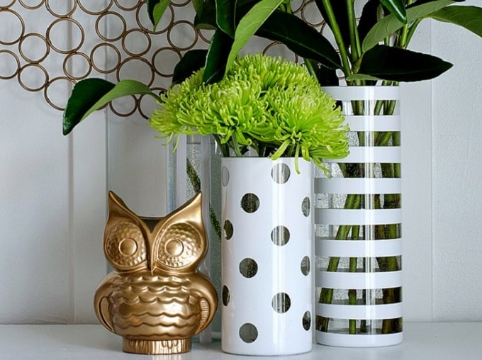 repurposed vases