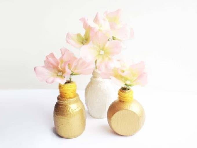 mini bud vases