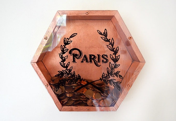 wall-mounted coin banks