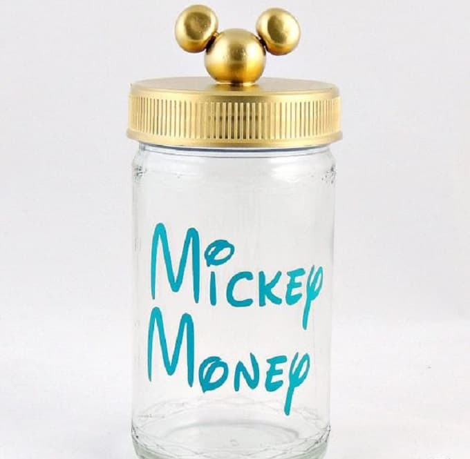 Mickey Money coin jar