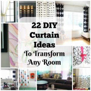 22 Elegant and Simple DIY Curtain Ideas That Will Transform Any Room