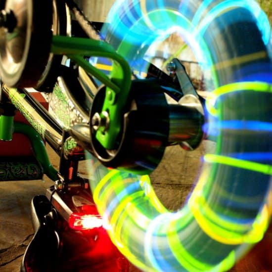 Make Wheels Glow In The Dark