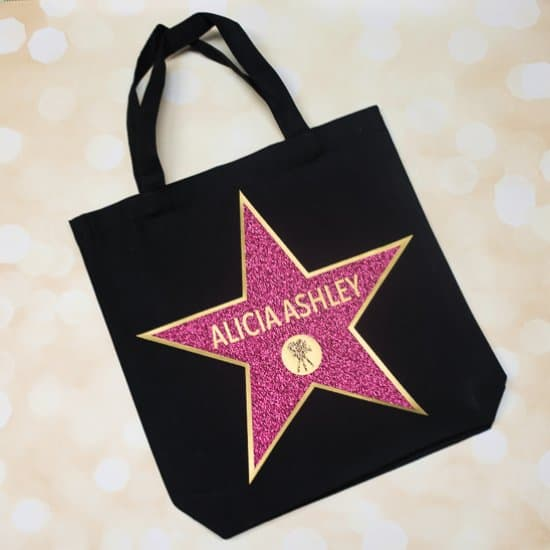 Hollywood Walk of Fame Swag Bag
