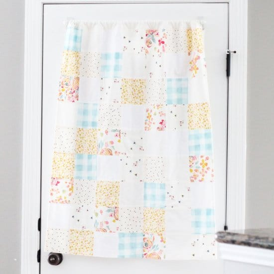 How To Sew A Patchwork Curtain