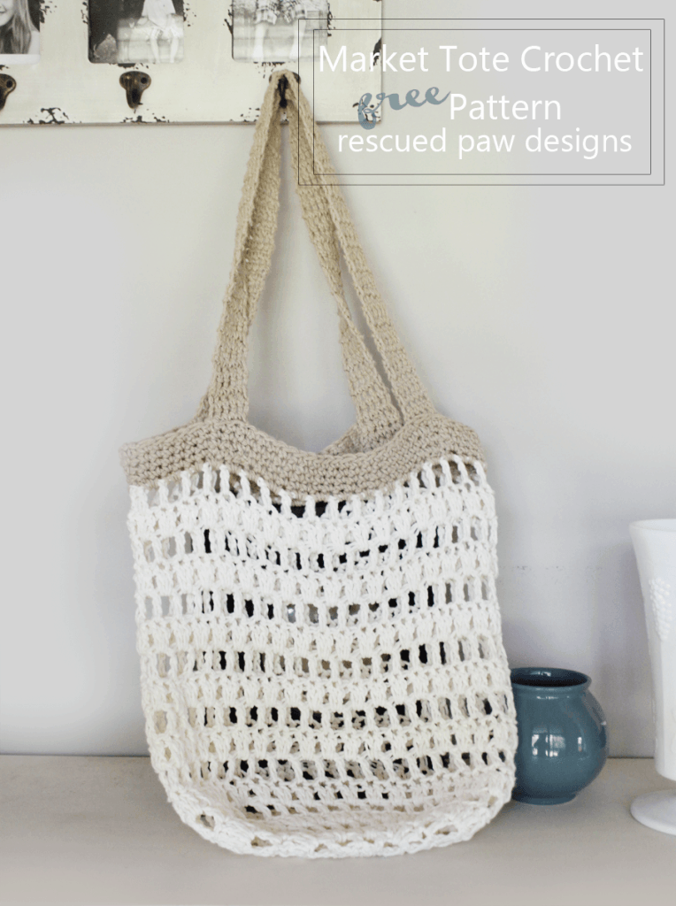 DIY Market Tote Bag