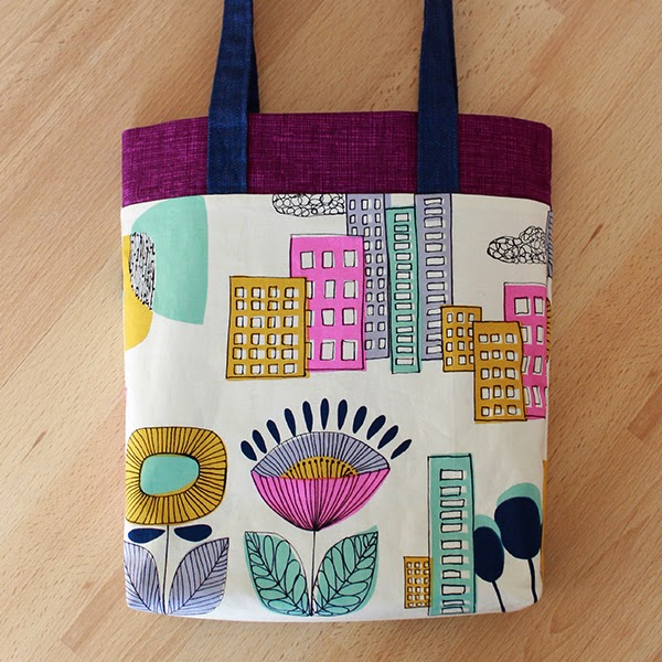 3-Fabric, 10-Step Tote