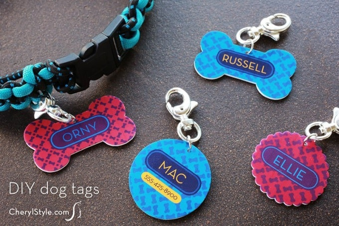 shrinky dinks dog tags