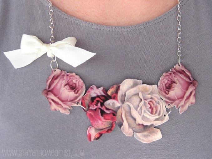 feminine DIY necklace