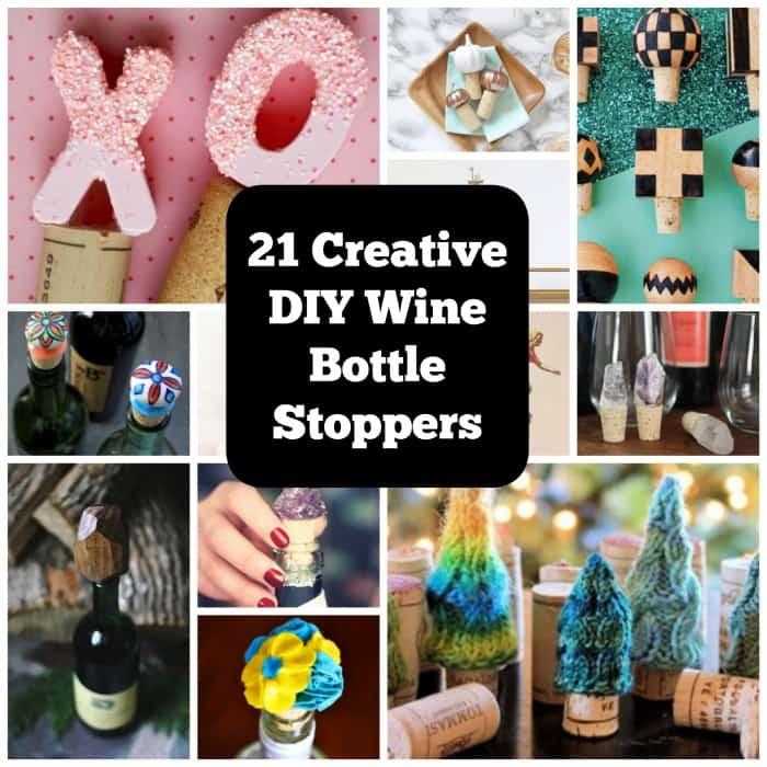 21 Festive DIY Wine Bottle Stoppers