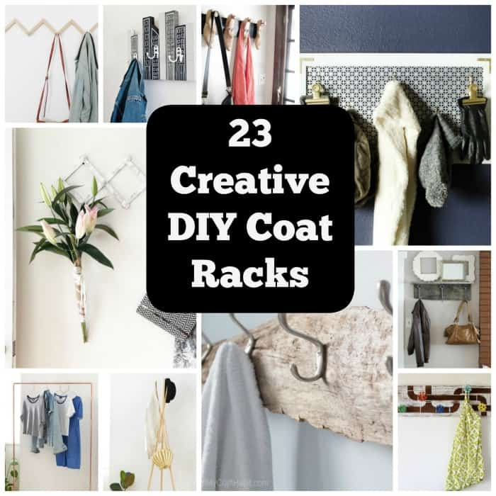 40 Clever DIY Coat Rack Ideas For Your Home Cool Crafts Delectable Diy Coat Rack Ideas