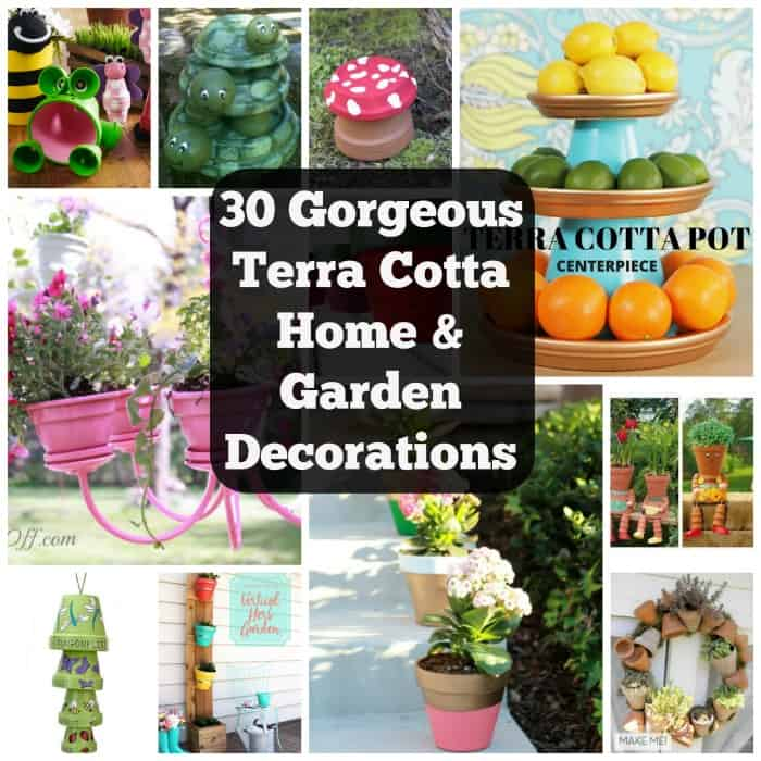 30 Gorgeous Ways To Decorate Your Terracotta Pots | CoolCrafts.com