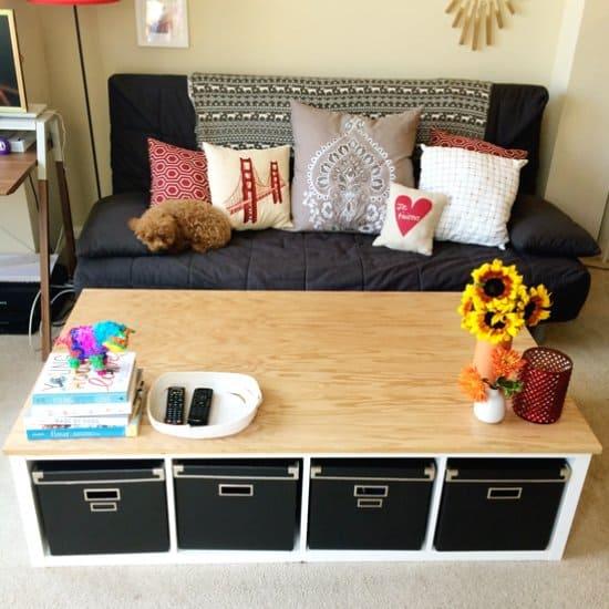 DIY Kallax Coffee Table