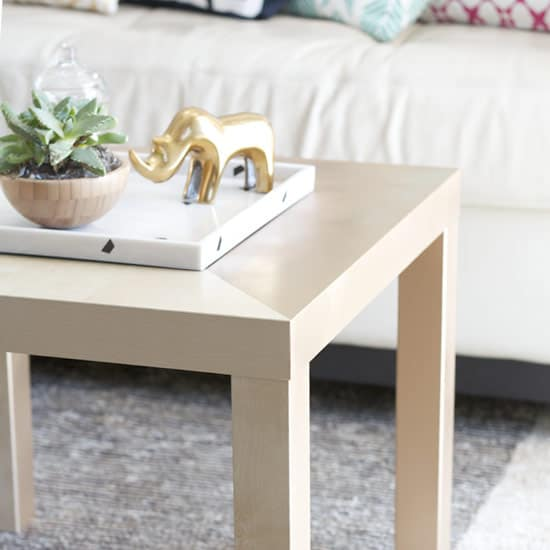 DIY IKEA Coffee Table