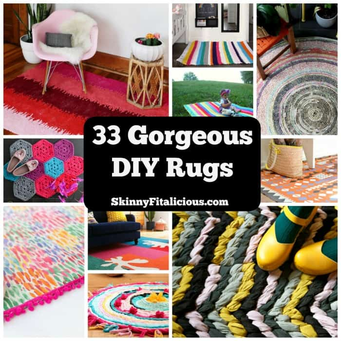 33 DIY Rug Ideas To Freshen Up Any Space. | Coolcrafts.com