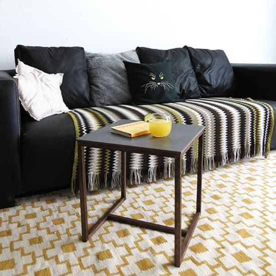 DIY Tile Side Table