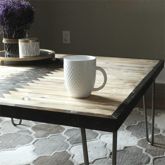 Tribal Pattern Coffee Table
