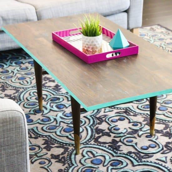 DIY Revamped Coffee Table