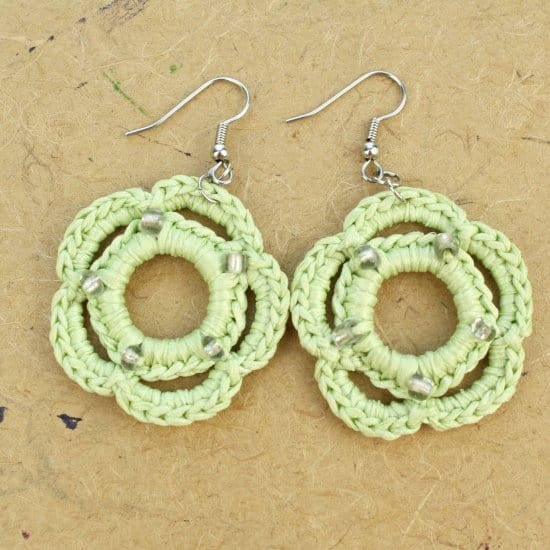 DIY Crochet Earrings