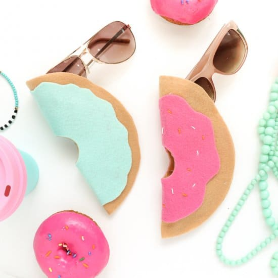 DIY Felt Sunglasses Case