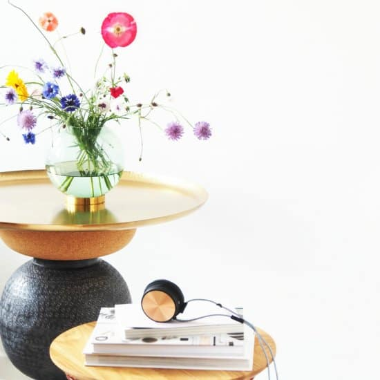 DIY Statement Side Table