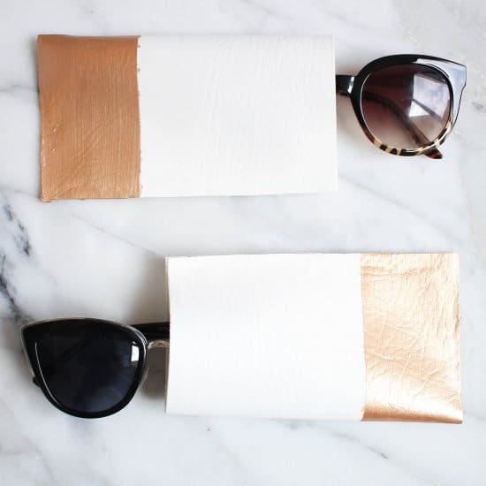 DIY No-Sew Sunglass Case