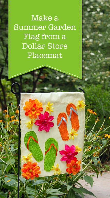 Yard Pop With These 20 Diy Garden Flags