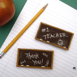 Toothpick Engraved Chocolate Bar Chalkboards