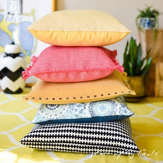 Placemat Pillows
