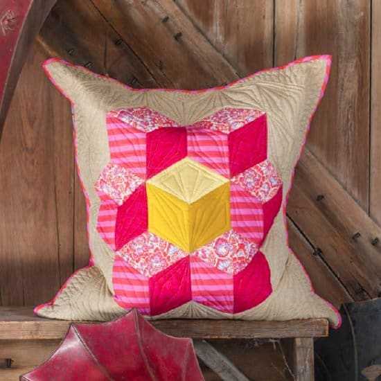 Tumbling Block Pillow Pattern