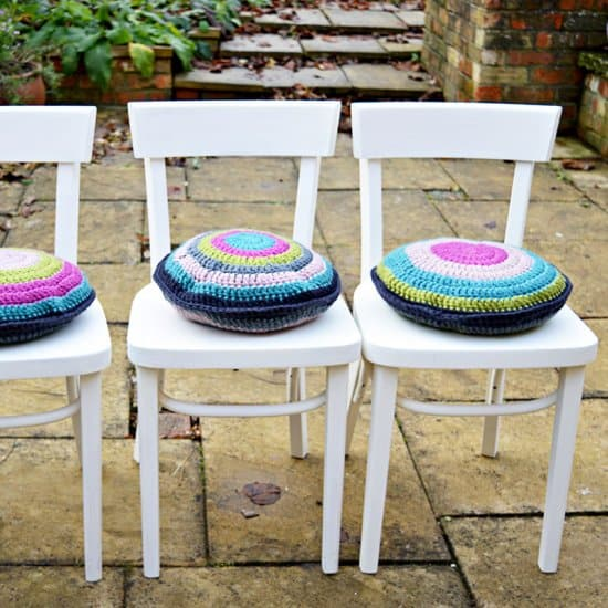 Crochet Cushion Pads
