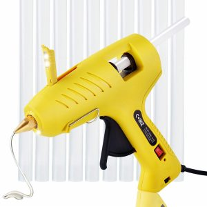 biz hot glue gun with LED lights