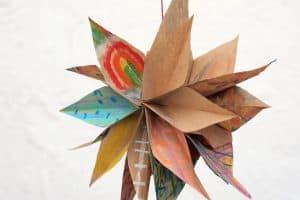 Artsy Paper Bag Stars