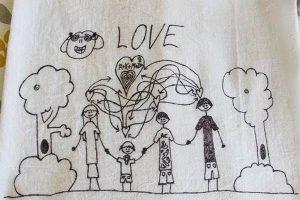 Children's Art Tea Towels