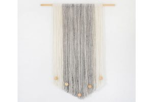 DIY Textured Yarn Wall Hanging