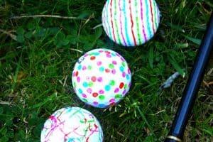 Decorated Golf Balls