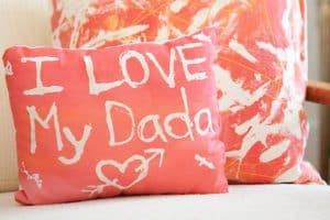 Fabric Resist Art Pillows