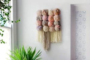 Giant Pompoms and Tassels