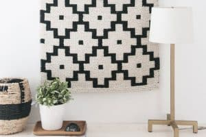 No-Weave Woven Wall Hanging
