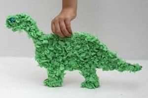 Tissue Paper Dinosaur