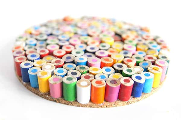 Colored Pencil Coasters
