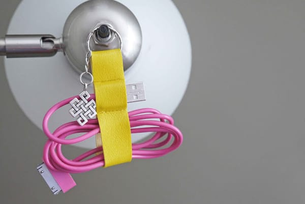 Data Cable Organizer Keychain