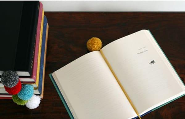 Pom-Pom Bookmarks