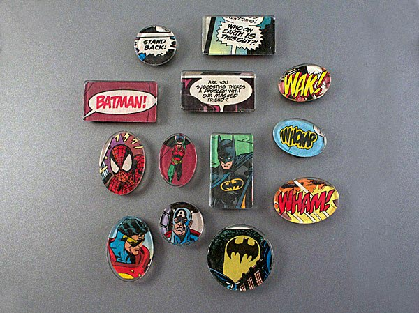Super Hero Magnets