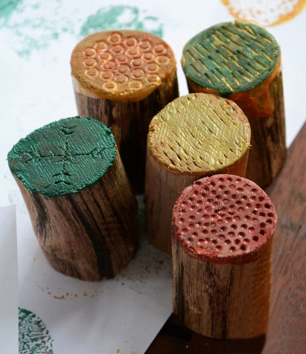 Wooden Texture Stamps