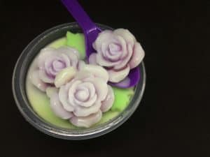plastic spoon roses