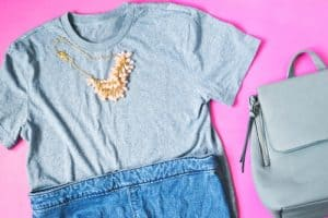 t shirt necklace